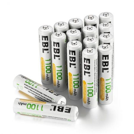 EBL High Capacity Rechargeable AAA Batteries For Cordless Phones