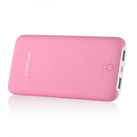 Pink Power Bank Portable Charger 10000mAh Battery Pack