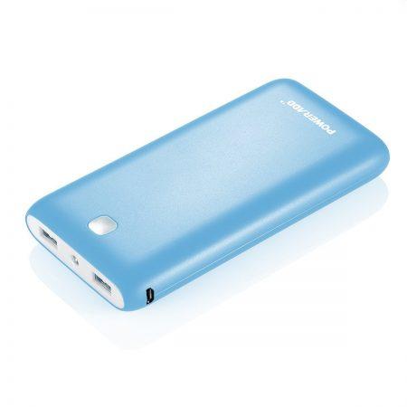 Poweradd X7 20000mAh Battery Bank Portable Charger Blue Color