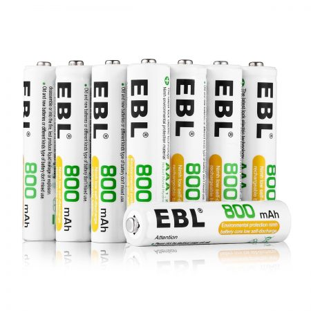 EBL AAA 1.2 V 800mAh NiMH Rechargeable Batteries