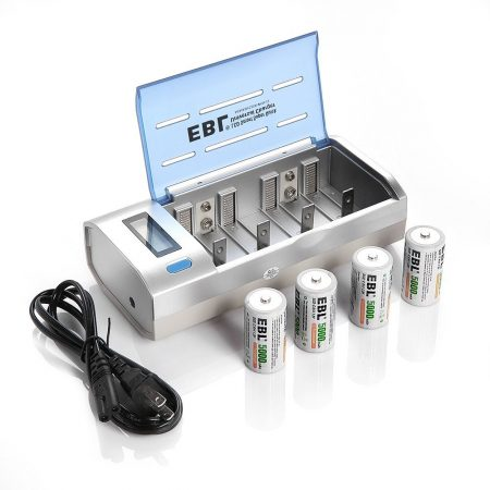 EBL 906 Smart Charger For AA AAA C D 9V Battery