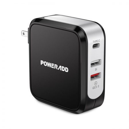 Quick Charge 3.0 USB Wall Charger With USB Type C Port