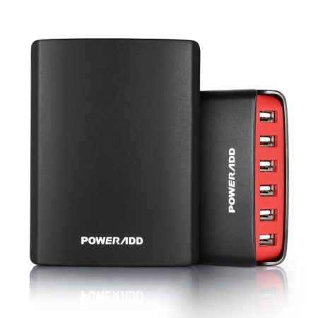 50W 10A Intelligent 6 Port USB Charger For Multiple Devices