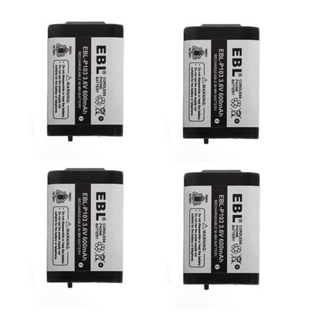 3.6V Cordless Phone Battery For Panasonic HHR-P103 Energizer ER-P507