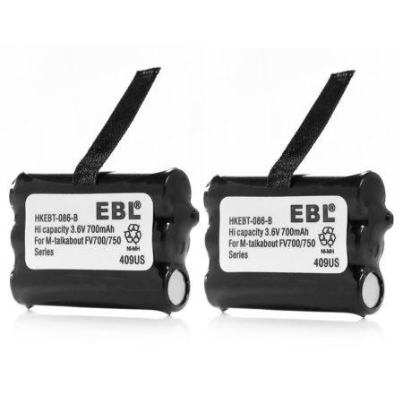 FV700 FV750 Motorola Talkabout Battery Replacement 3.6V 700mAh