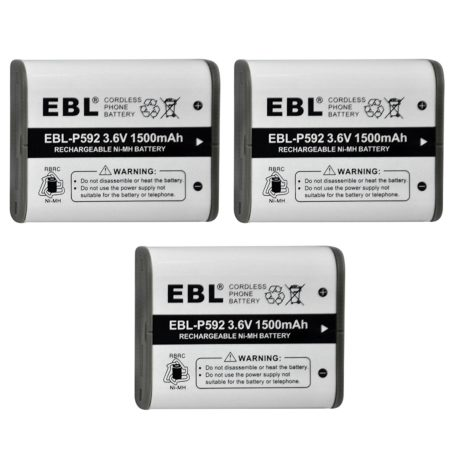 Compatible With AT & T, Belkin Cordless Telephone Batteries