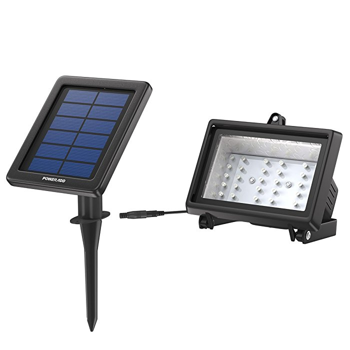 Landscape Wireless Solar Powered LED Flood Lights Outdoor