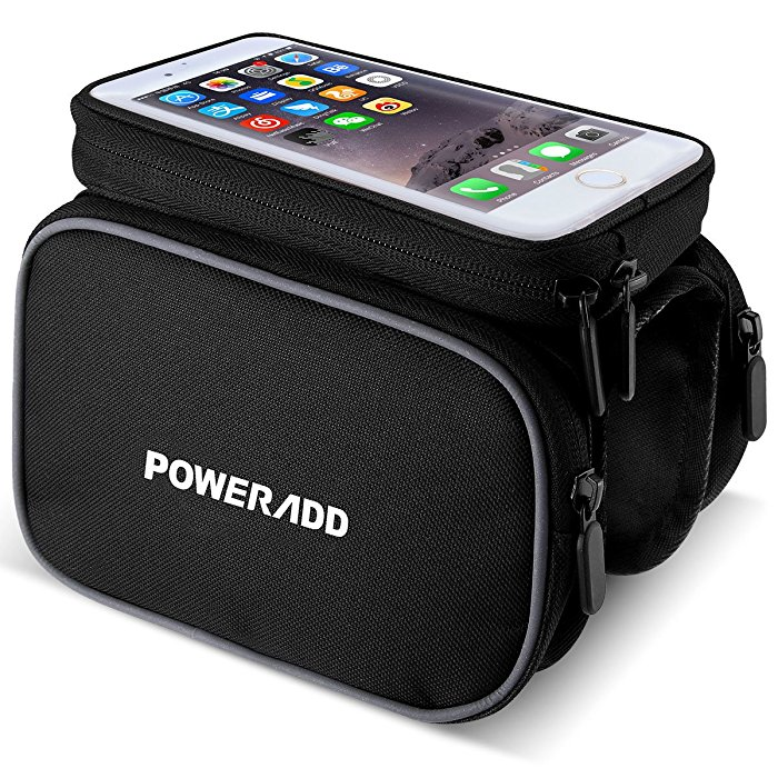 Touchscreen Cycling Top Tube Bag With Phone Holder