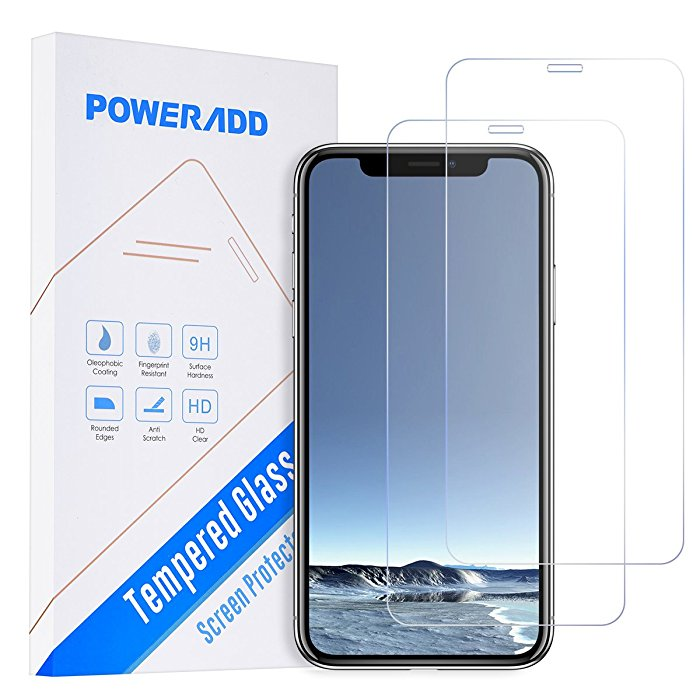 Anti-fingerprint Tempered Glass Screen Protector for iPhone X