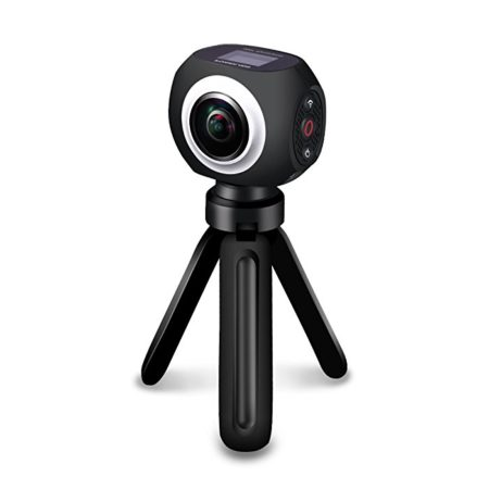 Poweradd High Resolution 360 Degree VR Panoramic Video Camera