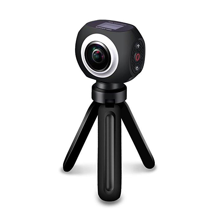 Poweradd High Resolution 360 Degree VR Panoramic Video Camera