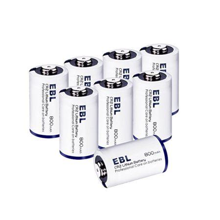 EBL CR2 3 Volt Lithium Battery for Digital Camera / Alarm Clock