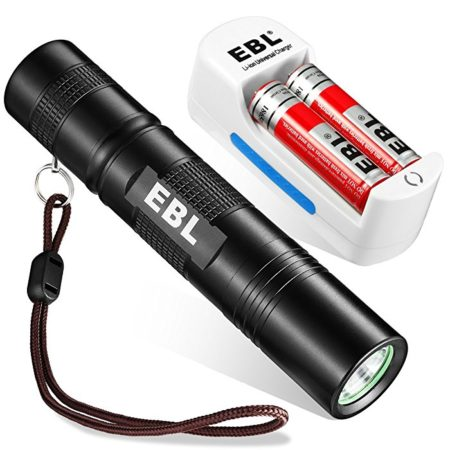 EBL High Power Military LED Flashlight IP65