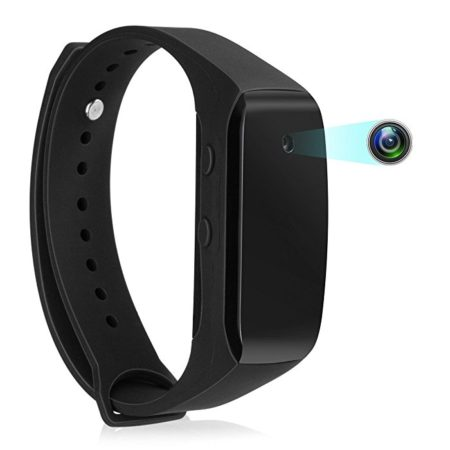 Wearable Bracelet Camera Hidden Video Recording Devices